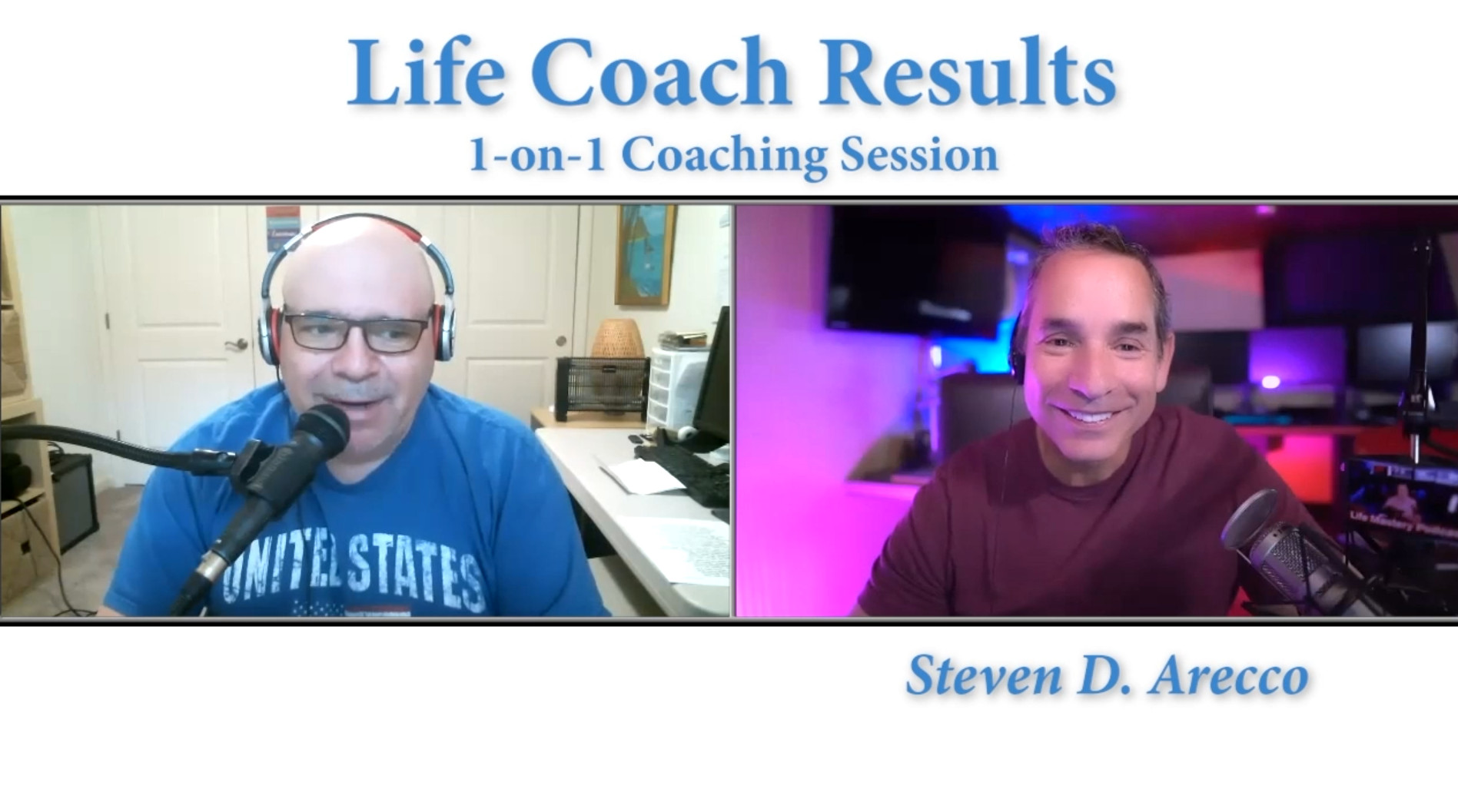 1-on-1 Coaching Sessions - Life Coach Results